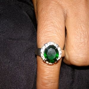 Jewelry - Sterling Silver 925 Emerald Ring